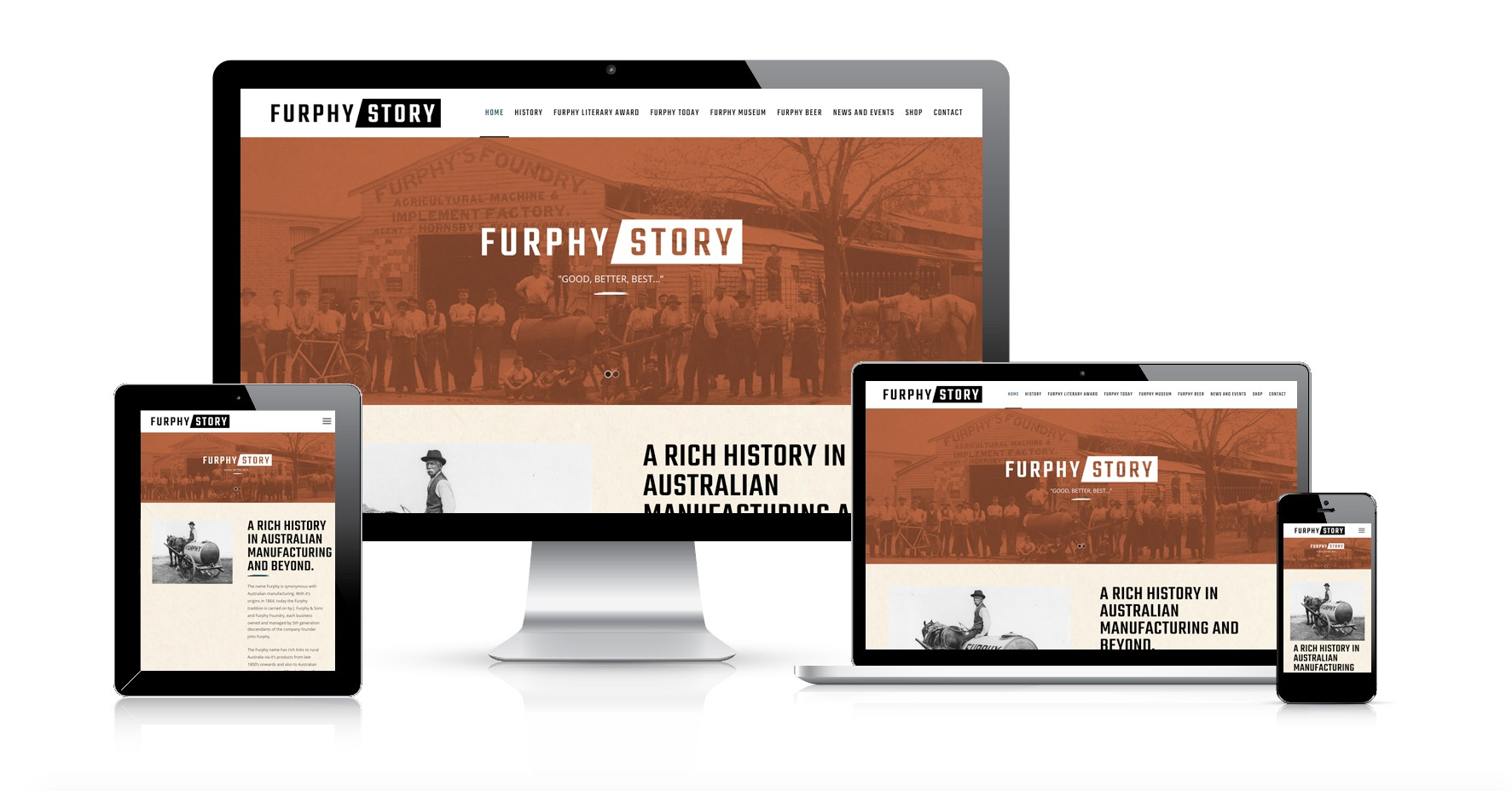 Furphy Story Responsive