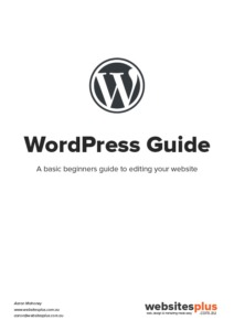 WordPress Guide Cover